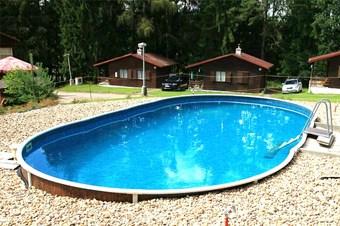 Kemp s bazénem jižní čechy